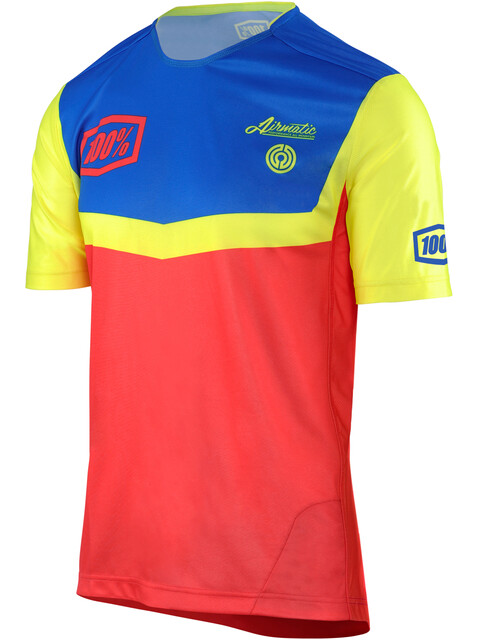 100% Airmatic Fast Times Enduro/Trail Jersey Men Fast Time Red